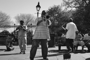 Amazing Jazz band in Jackson Square