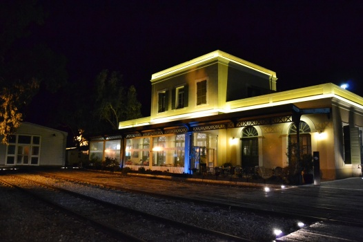 Old restored train station