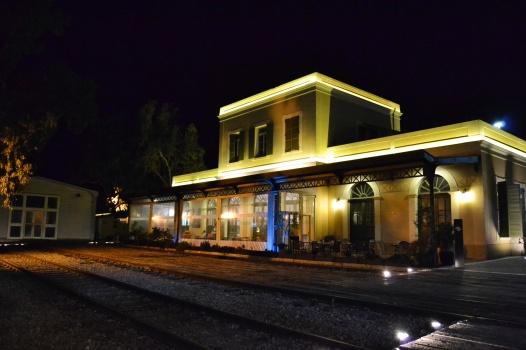 Old restored train station
