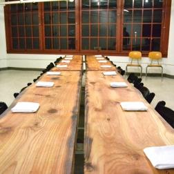 Beautiful hand-made wood table