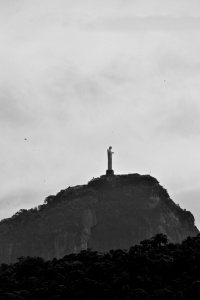 Cristo Redentor; famous statue taken with my zoom lens from far away