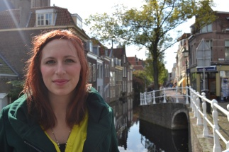 Amy in Delft