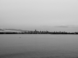 Vancouver on a cloudy day!